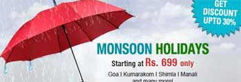 monsoon holidays - makemytrip.com